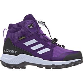 adidas TERREX Mid GTX Shoes Kinder actpur/aero blue/trupnk